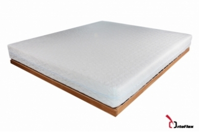 Saltea Memory Confort 3+15 cm 80x190 cm Silver