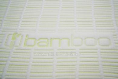 Saltea Memory Bamboo 7+15 cm 90x200 cm