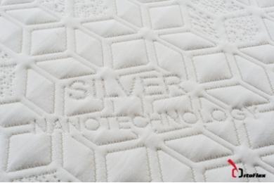 Saltea Memory Confort 3+15 cm 90x200 cm Silver
