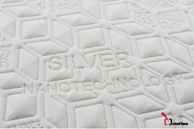 Saltea Ortopedic Silver 90x200 cm
