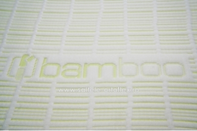 Saltea Memory Bamboo 7+15 cm 80x190 cm