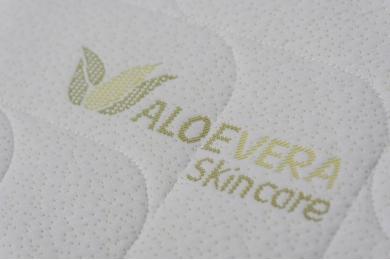 Saltea Memory Superior 5+13 cm 90x190 cm Aloe Vera